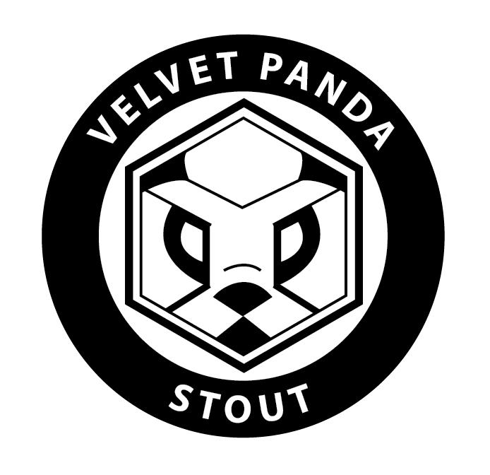 Mill House Velvet Panda beer Label Full Size