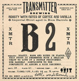 Transmitter B2 Imperial Stout Rum Barrel beer