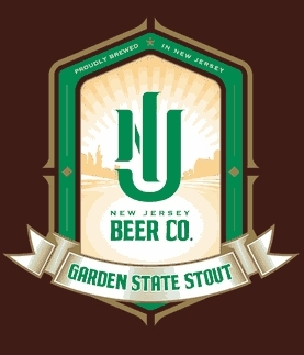 New Jersey Garden State Stout beer Label Full Size