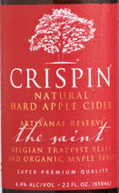 Crispin The Saint beer Label Full Size