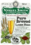 Samuel Smith Pure Brewed Lager beer