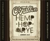 O'Fallon Hemp Hop Rye beer