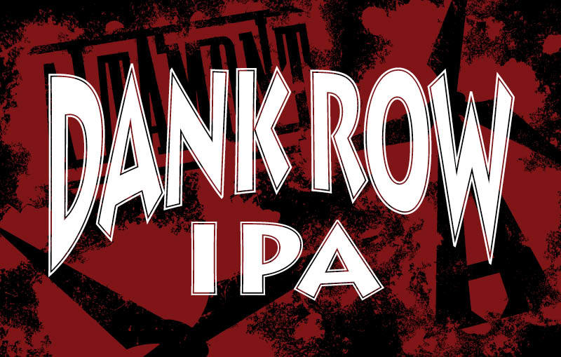 Altamont Dank Row IPA beer Label Full Size