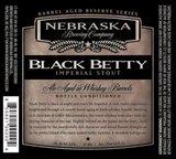 Nebraska Black Betty Reserve Series Russian Imperial Stout beer