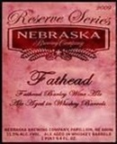 Nebraska Fathead Reserve Series Barrel Aged Beer
