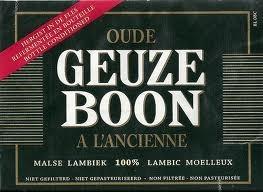 Boon Oude Geuze Beer