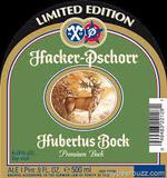 Hacker Pschorr Hubertus Bock beer