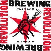 Revolution Bottom Up Belgian Wit beer Label Full Size