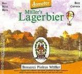 Pinkus Demeter Mullers Lagerbier beer