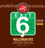 Flying Fish Exit 6 Wallonian Rye beer