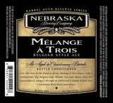 Nebraska Melange A Trois beer