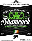 Wolverine State Snakes On A Shamrock beer