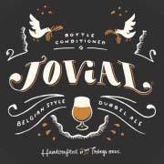 Troegs Jovial Dubbel beer Label Full Size