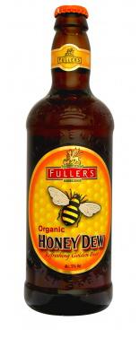 Fuller's Organic Honey Dew beer Label Full Size
