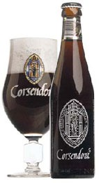 Corsendonk Brown beer Label Full Size