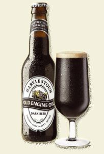 Harviestoun Old Engine Oil beer Label Full Size