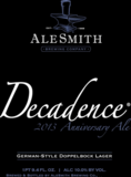 AleSmith Decadence beer