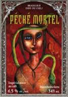 Peche Mortel Imperial Coffee Stout Via Randall beer Label Full Size