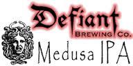 Defiant Medusa IPA beer Label Full Size