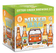 Otter Creek Mixed Bag beer Label Full Size