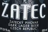 Zatec Dark Lager beer