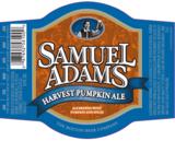 Sam Adams Harvest Pumpkin Ale beer