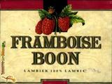 Boon Framboise beer