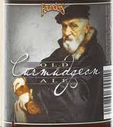 Founders Curmudgeon Old Ale 2015 beer Label Full Size