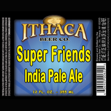 Ithaca Super Friends IPA beer