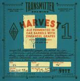 Transmitter H1 Oak Aged Zin Saison beer