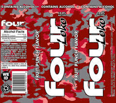 Four Loko Fruit Punch Beer