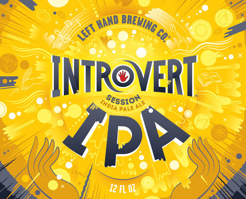 Left Hand Introvert Session IPA beer Label Full Size