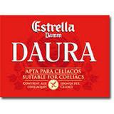 Estrella Damm Daura beer Label Full Size