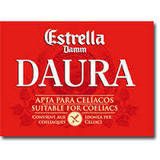 Estrella Damm Daura beer
