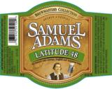 Sam Adams Latitude 48 IPA beer