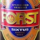 Forst Sixtus Doppelbock Beer