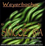 Weyerbacher Double Simcoe IPA beer