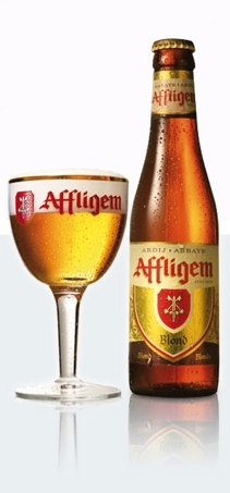 Affligem Blonde beer Label Full Size