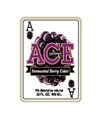 Ace Berry Cider beer Label Full Size