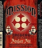 Mission Amber Ale beer