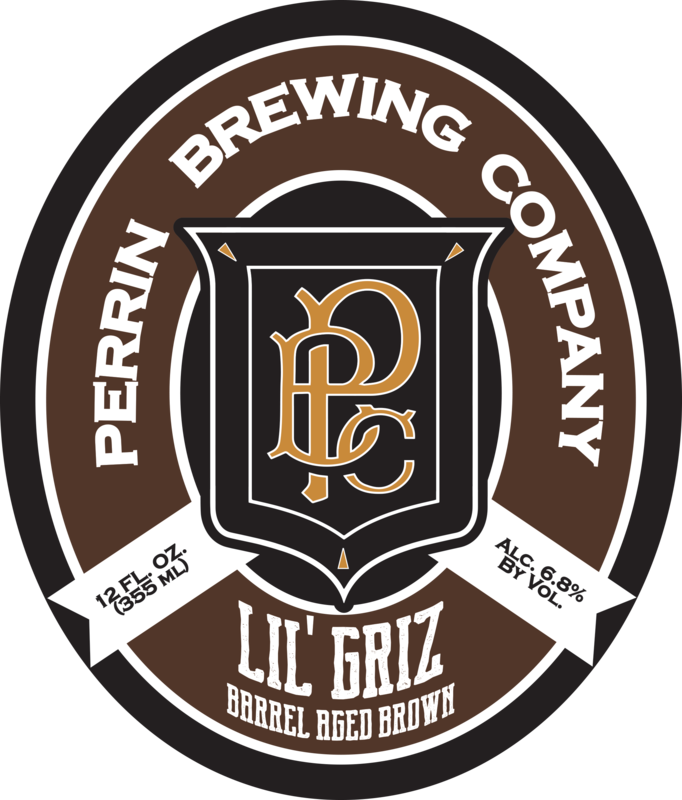 Perrin Lil' Griz beer Label Full Size