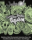 Jackie O's Cucumber Ginger Perpetum beer