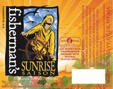 Cape Ann Fisherman's Sunrise Saison beer
