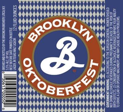 Brooklyn Oktoberfest Beer