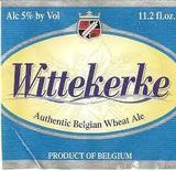 Wittekerke Belgian Wit beer