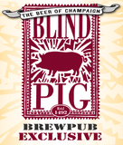 Blind Pig Apricot Wheat Beer