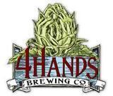 4 Hands Opus beer Label Full Size
