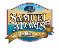 Samuel Adams Summer Ale beer Label Full Size