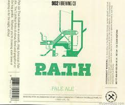 902 Path - Pale Ale True Hoboken beer Label Full Size