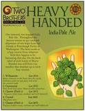 Two Brothers Heavy Handed IPA With Cascade Hops beer